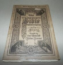 1909 THE BIBLE AND ITS STORY NIGLUTSCH TAUGHT BY ONE THOUSAND PICTURE LESSONS