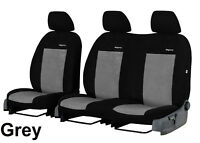 FORD TRANSIT CUSTOM VAN 2017 2018 2019 STRONG VELOUR TAILORED SEAT COVERS