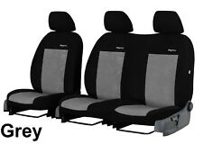 """VW CRAFTER FACELIFT 2017 2018 2019 """"ELEGANCE"""" STRONG VELOUR TAILORED SEAT COVERS"""