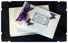 Loved one Condolence Guest book with personalised  text In loving memory  7