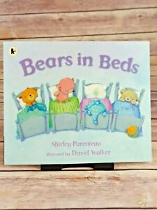 Bears in Beds by Shirley Parenteau Paperback in Very Good Condition