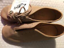 NEW Leo's Dancewear Giordano  Tap Shoes TAN Sz 4.1/2  M  NWOB UNISEX #5026