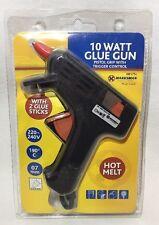 10 watt pistola de Pegamento Eléctrico para masa fundida caliente + 2 X 07mm palos enchufe de Reino Unido Hobby Craft hágalo usted mismo