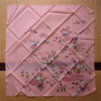 【FUROSHIKI】JAPANESE VINTAGE SCARF, INTERIOR CLOTH, MADE IN JAPAN.