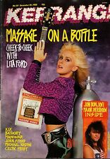 Lita Ford on Kerrang Cover 1988    Jon Bon Jovi   Bathory   Manowar   John Sykes