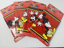 Vintage Disney Mickey Mouse Border Wall Paper - 4 Packs
