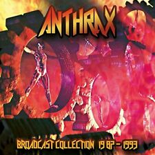 Anthrax - Broadcast Collection 1987-1993 (2017)  4CD Box Set  NEW  SPEEDYPOST