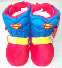DC Comics - Superman with Cape - Toddler Slippers / Shoes-M 7-8 - Save 2 or more