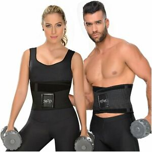 Colombian Workout Gym Belt Waist Trimmer Trainer Wide Support AB's Loose Inches