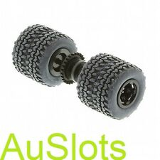 Scalextric W9120 Batmobile Rear Wheel Axle Assembly C2635 Fits C3333A