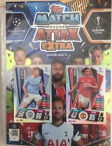 Match Attax 20/21 - Complete Collection, Full Set All 284 Cards + ALL* Limited