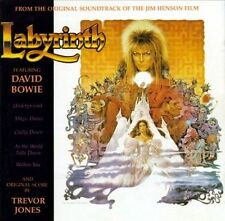 LABYRINTH Original Soundtrack CD rare / htf  / oop DAVID BOWIE TREVOR JONES
