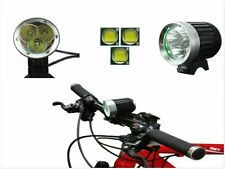 TORCIA FARETTO PER BICI MTB 3800LM LUCE BICI ENDURO OFF ROAD BATTERIA LITIO