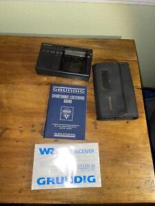 Grundig Traveller III 12-band Worldtime Travel Radio FM/MW/SW Alarm Clock