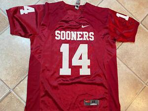 Sam Bradford OKLAHOMA SOONERS College Football Jersey Shirt Stitched XL