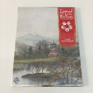 LEGEND OF THE FIVE RINGS ROLEPLAYING GAME MASTER'S KIT SCREEN FFG RPG NEW SEALED