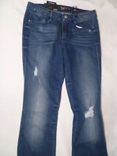 Suede Farrah Ladies Denim High Rise Flare Jeans Size 28 NWT MSRP $69.00