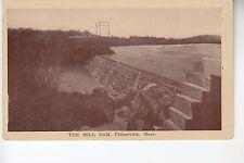 Sepia The Mill Dam Fisherville MA