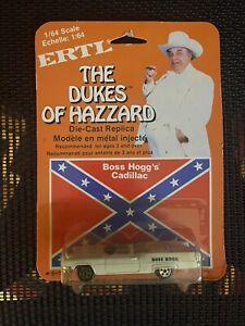 The Dukes Of Hazzard Boss Hogg's Cadillac 1:64 Diecast Car 1/64 Scale  1981