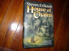 House of Chains Steven Erikson Signed 1st Hardcover