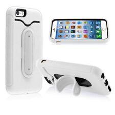 Fundas y carcasas color principal blanco de silicona/goma para teléfonos móviles y PDAs Apple