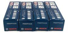 BOSCH Double Platinum Audi - Volkswagen VW 4 Piece Spark Plug Set FR5KPP332S