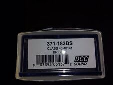 Graham Farish 371-183ds Class 40 No 40141 BR Blue Split Head Code DCC Sound