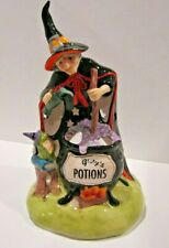 Blue Sky Clayworks Heather Goldminc Halloween Witch Potion Spells Frog Tealight