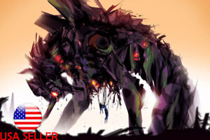 "Neon Genesis Evangelion EVA Anime 24"" x 16"" Large Wall Poster Art Print Gift"