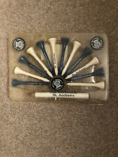 Old Course St. Andrews Golf Ball Markers Tees and Pencil Set /Case British Open