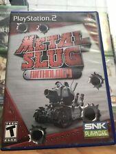 Metal Slug Anthology PlayStation 2 PS2 - Complete VGC Rare HTF Blue Case Officia