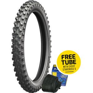 Michelin  Starcross 5 90/100-21 57M Medium Front Motocross Tyre + Free Tube