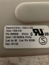 803293 Original Depend-O-Drain Drain Valve 2 inch 120V Oem