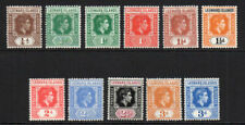 Leeward Islands 11 Stamps c1938-51 Mounted Mint Hinged