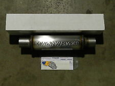 "New Magnaflow Universal Stainless Steel Muffler 10416 2.5""Inlet/Outlet Fast Ship"