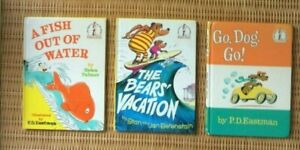 Beginner Books: Go, Dog. Go! A Fish Out Of Water & The Bears' Vacation Books