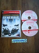 COMMAND & & CONQUER GENERALS PC CD-ROM PAL IN CONFEZIONE