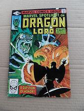 Marvel Spotlight (vol 2) 5 . Dragon lord . Marvel 1990 .  FN