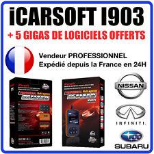 Valise Diagnostique NISSAN SUBARU & INFINITI - iCARSOFT I903 - Diag OBD2 Auto