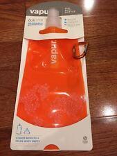 NIP Vapur Anti-Bottle .5L Orange Reusable Foldable Washable Freezable