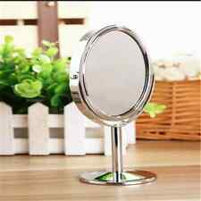 14.2*8.3cm Classic Revolving Makeup Cosmetic Table Desk Mirror Magnifying CUU