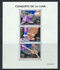 Centrafrique Bloc N° 5** (MNH) 1966 - Conquête de la lune