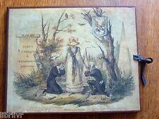 Gravures ALBUM COMIQUE DE PATHOLOGIE PITTORESQUE Reproduction de lithographies