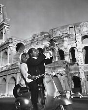 "louis armstrong Vespa Scooters Mods 10"" x 8"" Photograph"