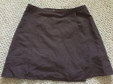 Royal Robbins Global Traveler Skirt Skort UPF40+ Brown Womens 6 NWT