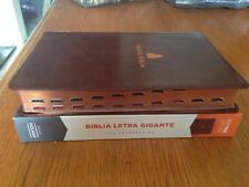 BIBLIA REINA VALERA 1960 RVR60 LETRA GIGANTE - Referencias Indice Piel Fabricada