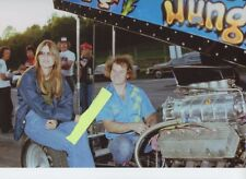JUNGLE JIM & JUNGLE PAM       8X12 DRAG RACING PHOTO