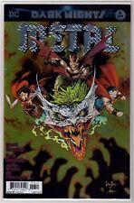 DARK NIGHTS METAL 2018 #6 Greg Capulllo DC Comics NM+ Joker Metallic Cover