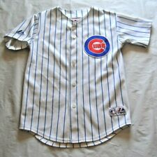 Chicago Cubs Pinstripe Majestic Home Jersey - YOUTH Size Medium / M