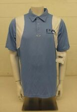 Oakley PM Promotorsports Blue & White Conduct Polo Shirt Men's Large NEW $60